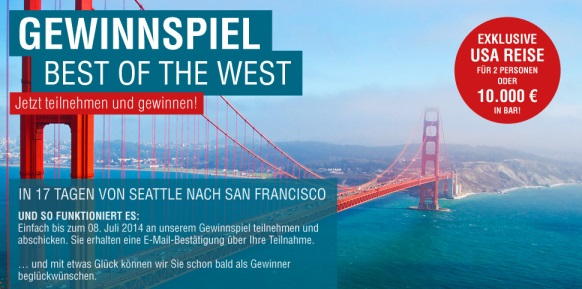 Gewinnspiel - Best of the West